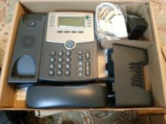 CISCO Small Business 8 Line IP Phone with Display, POE and PC Port, Model SPA58G