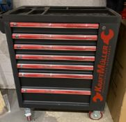 Brand new German Complete lockable tool chest with tools