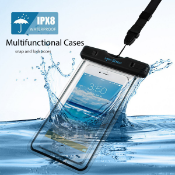 * Trade Lot * 100x Units Submersible Underwater waterproof Phone Carry Case