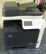 Konica Minolta Biz Hub C35 Colour A4 desktop Digital Copier/Printer/Fax/Scan .