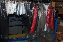 1x Rail of High End Italian Clothing