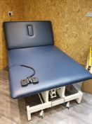BLUE ELECTRIC METRON BALMAIN NEURO TABLE 120CM sports, massage parlour, physiotherapy, etc.