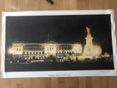 Franklyn J Scott Limited Edition Prints Signed. 3 x Buckingham Palace