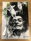 Capital T Limited Edition Print 'S**T's Getting Surreal