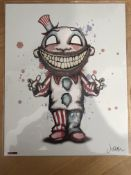 6 x The Bam Box Limited Edition Prints Signed.