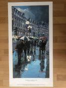 Franklyn J Scott Limited Edition Prints Signed. 2 x Umbrellas