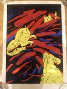Franz Lang Killer Cat Limited Edition Print