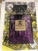Endless Artist Limited Edition Print, Chapel Purple Cost £750