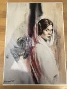 Capital T Limited Edition Prints, Princess Leia