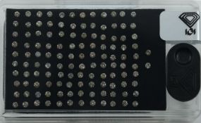 "IGI Certified Sealed 3.32 ct. Diamond ""D Box"" UNTREATED"
