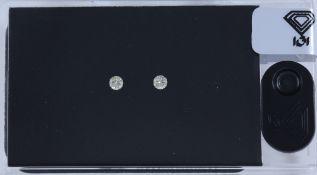 IGI Sealed 0.18 ct. Diamond D-Box - X - Y UNTREATED