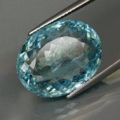 14.32 ct. Blue Aquamarine - BRAZIL