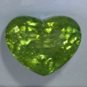 IGI Certified 7.38ct. Green Tourmaline - MOZAMBIQUE