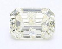 IGI Certified 1.02 ct. Emerald Shape Diamond UNTREATED