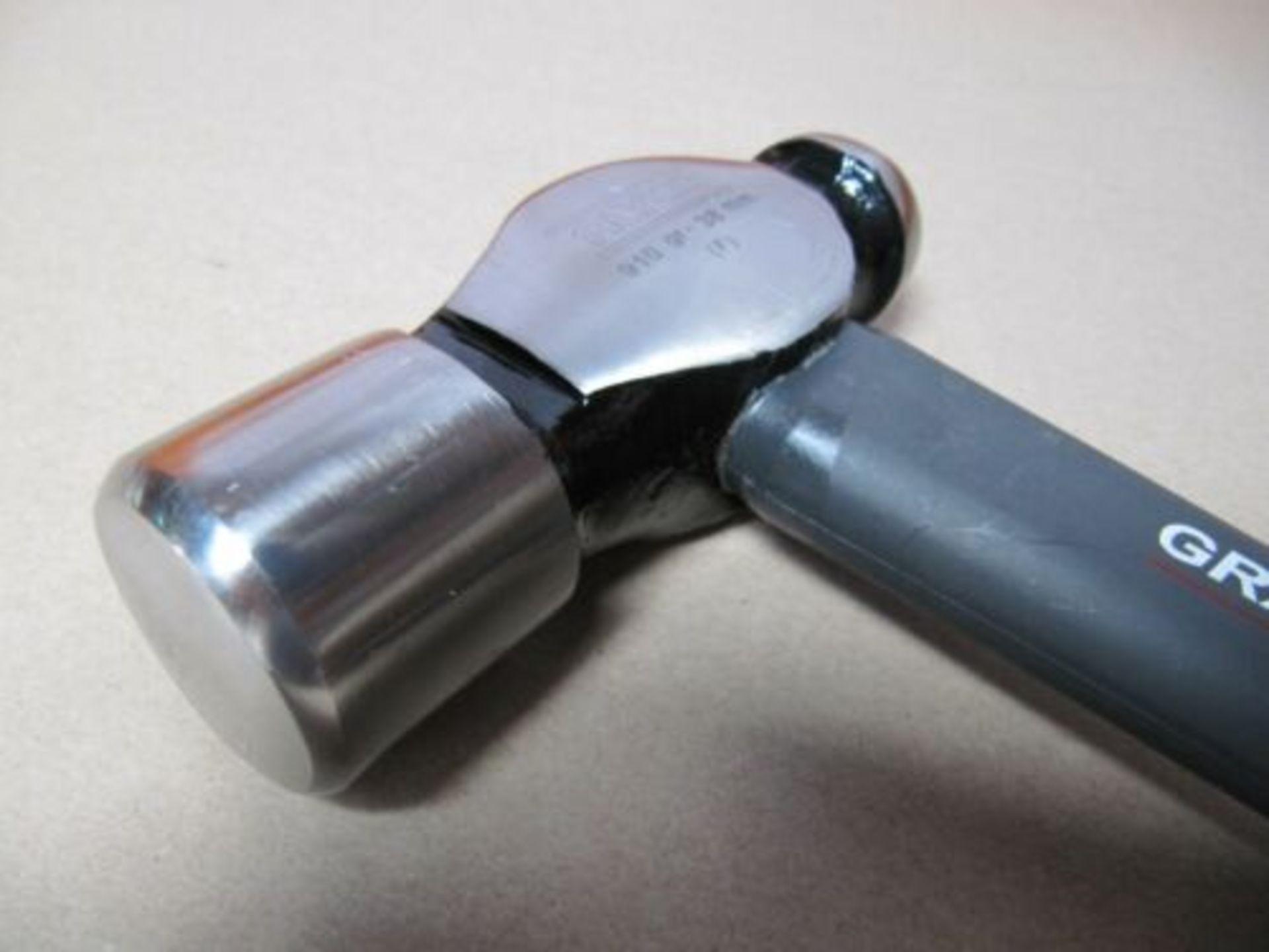 Lot 30 - 5 x Ball Pein Hammer. Fibreglass Shaft. Grafito. 910g, 38mmno vat on hammer.You will get 5 of