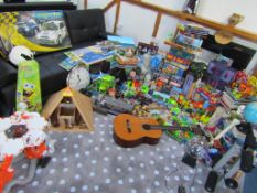Pallet Load of Toys. Hundreds of items. Not vat on hammer.Includes Scalextric Set, Board Games,