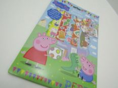 14 x Peppa Pig Sticker Paradise. no vat on hammer.You will get 14 of these.Peppa Pig Sticker