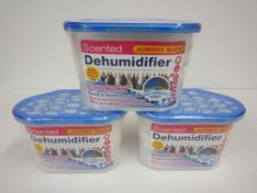 9 x Scented Dehumidifier Pack. Jumbo Size. Sea Breeze. 230g each no vat on hammer.You will get 9