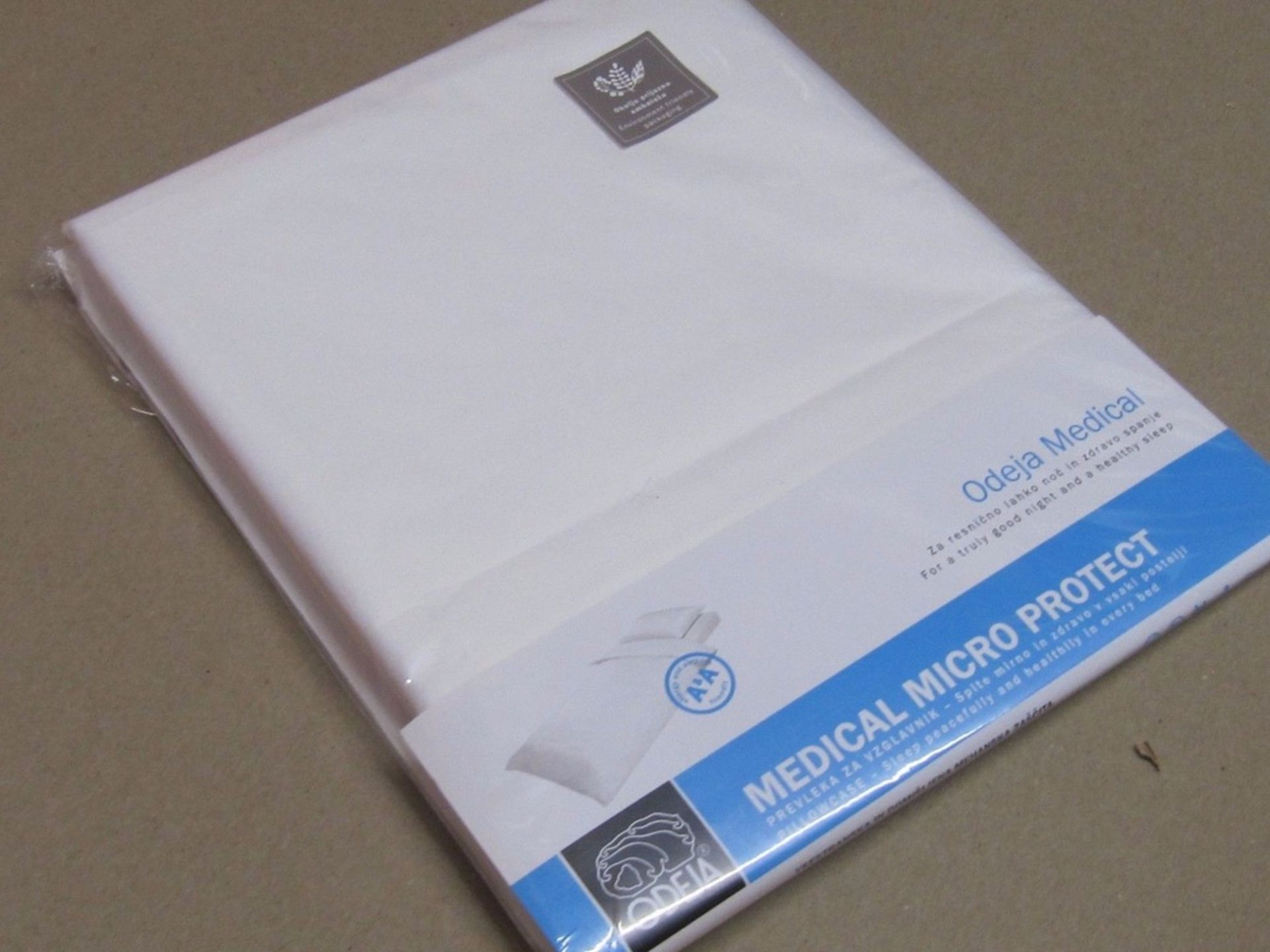Lot 40 - 5 x Allergies Pillow Case. Medical Micro Protect Cover. by ODEJAno vat on hammer.You will get 5