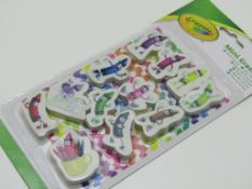 20 x CRAYOLA pack of 12 Mini Erasers. no vat on hammer.You will get 20 packs of 12 erasers.Crayola