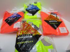 4 x Hi Viz PPE workwear. Waistcoat and Bib n Brace.no vat on hammer, you will get 4 items as