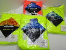 4 x Waterproof Jackets. Lyngsoe PPE workwear.no vat on hammer.You will get 4 jackets.3 x Waterproof