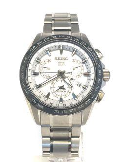 Seiko Astron Watch GPS Solar Dual Time Titanium Seiko Astron Watch GPS Solar Dual Time Titanium SS