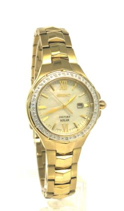 Ladies Seiko Coutura Solar Solar Powered Watch SUT242P9