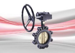 NEW - CRANE F629 Fully-Lugged Gearbox Operated Butterfly Valve. 600MM. RRP £28,761. NEW ITEM. ...
