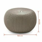 Brand New Keter Cozi Knit Seat. Beige