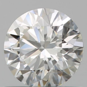 gia cert 0.51 ctw round diamond fvvs1
