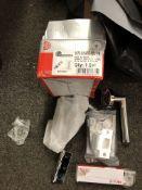 5 Sets Of Dale 3675 Smart Athena Privacy Door Packs Inc Hinges Lock