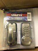 1 X Unifix Hq20371/1 Mini Push Button Digital Lock Snp