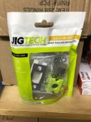 5 X Jigtech Polished Chrome 57mm Smart Bathroom Bolt   Jtl4023