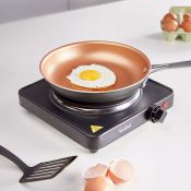 (NN39) Single Hot Plate Small, lightweight and easily portable, use the hot plate for cooking ...