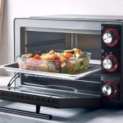 (V110) 28L Mini Oven Cooker & Grill 28L capacity and unobtrusive size makes it ideal for space...