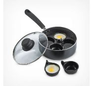 (X28) Egg Poacher. Includes 4 removable egg cups and internal pan frame to hold them securely ...