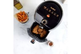 S433) 1.5L Air fryer All the taste of deep fat frying with up to 80% fewer calories. Vapour st...