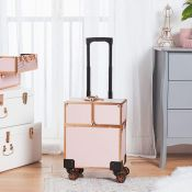 (S309) Beauty Trolley Extending suitcase-style handle for comfortable, easy transportation (88...