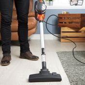 (S65) Corded Stick Vacuum Cleaner 600W Floor to ceiling cleaning power – effortlessly switch...