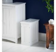 (X30) Colonial Storage Hamper. MDF with painted finish Water resistant & easy to clean Arrive...