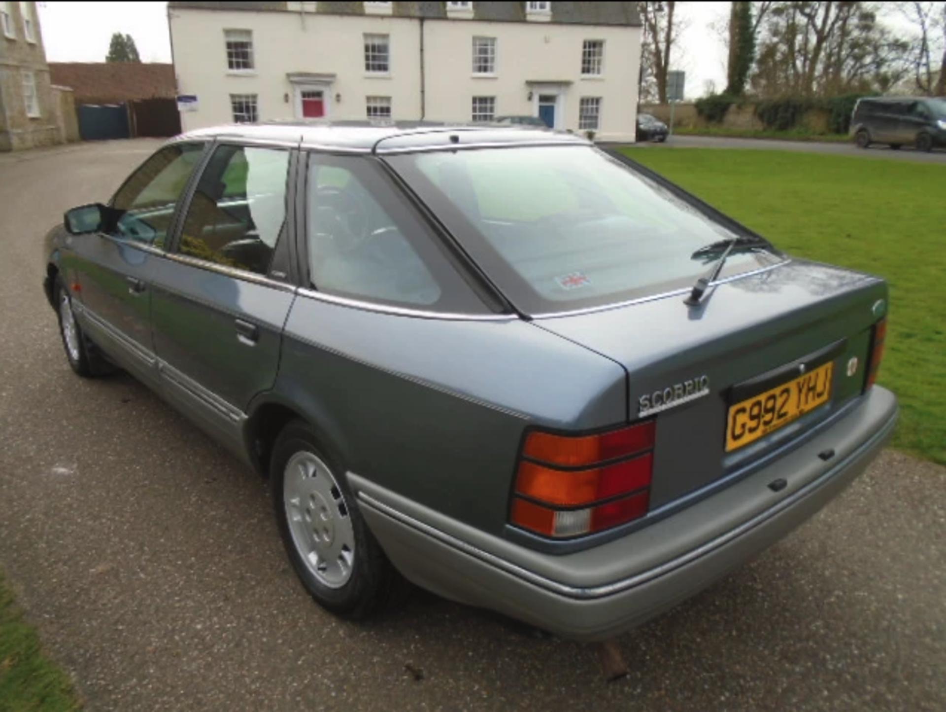 1989 Ford Granada Scorpio 2.9L V6 - Image 4 of 5