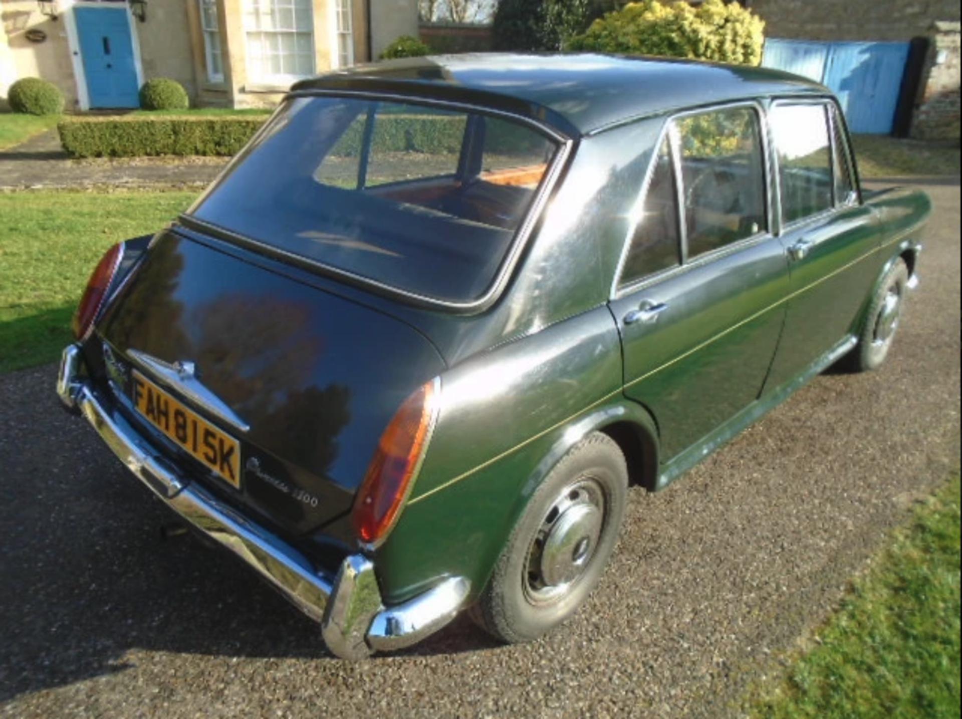 Lot 24 - 1972 Princess 1300 Vanden Plas