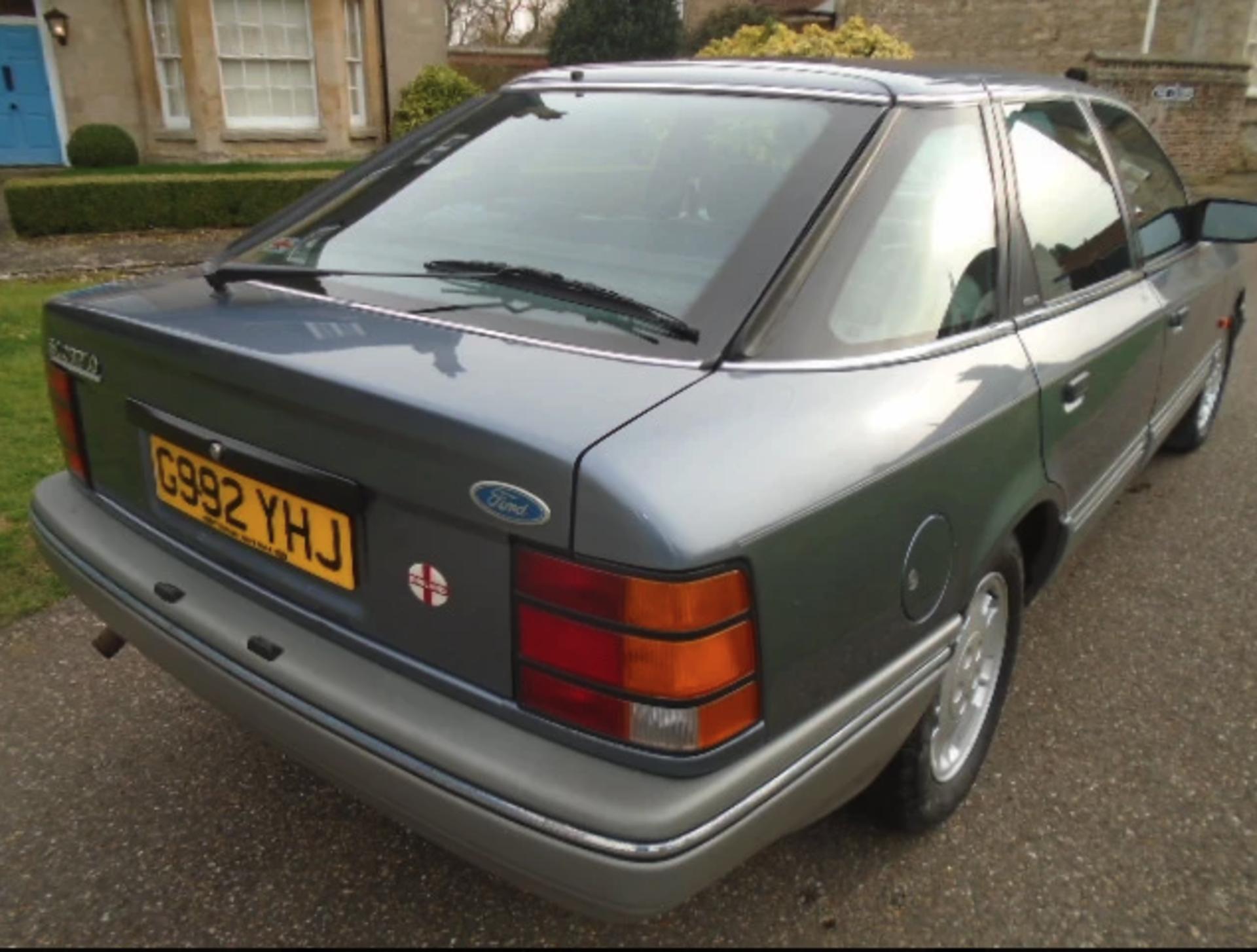 1989 Ford Granada Scorpio 2.9L V6 - Image 3 of 5