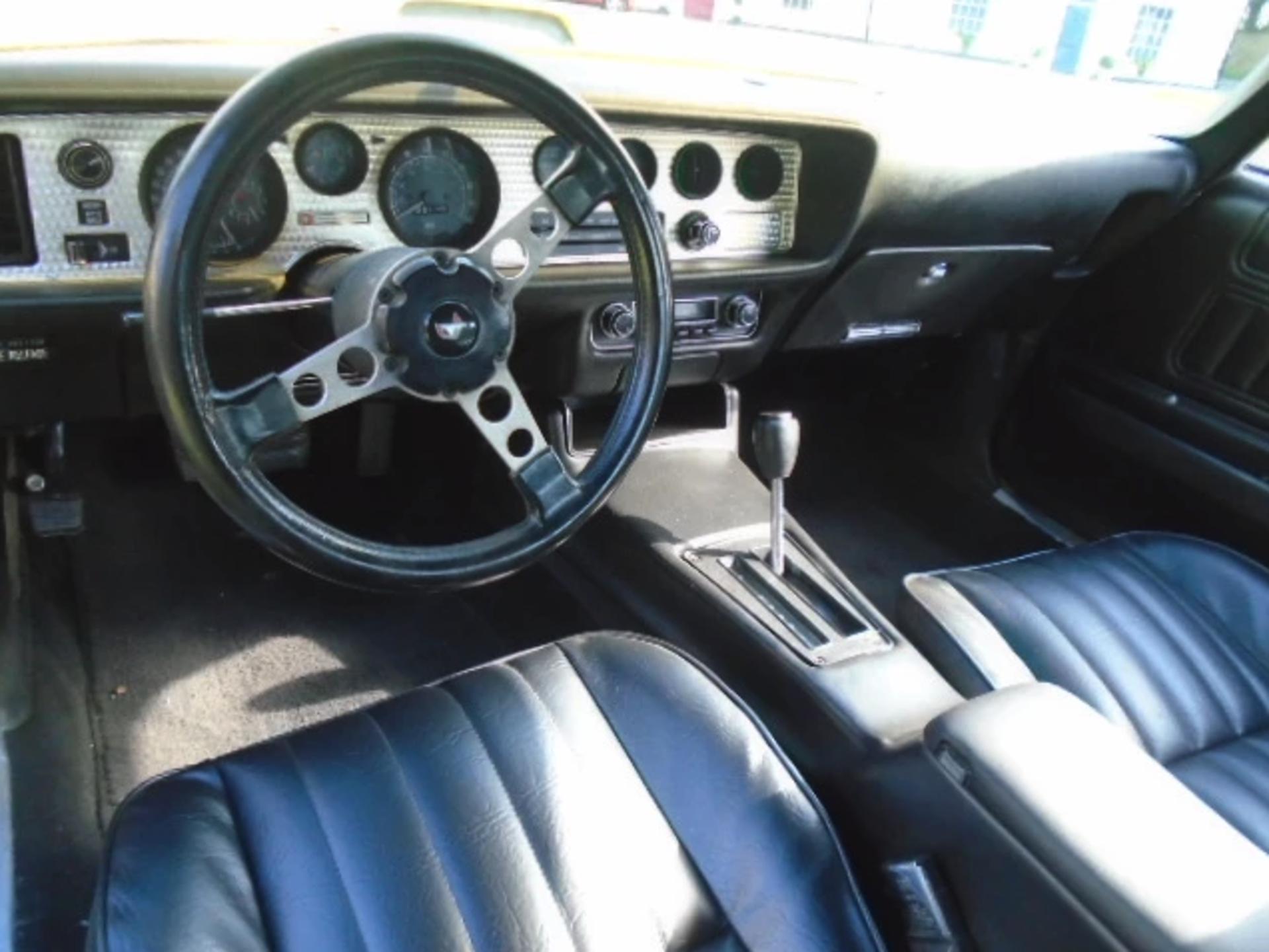 Lot 3 - 1976 Pontiac Firebird Trans-Am