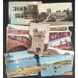 Vintage 44 Assorted British Postcards Includes Tuck