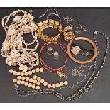 Parcel of Assorted Costume Jewellery