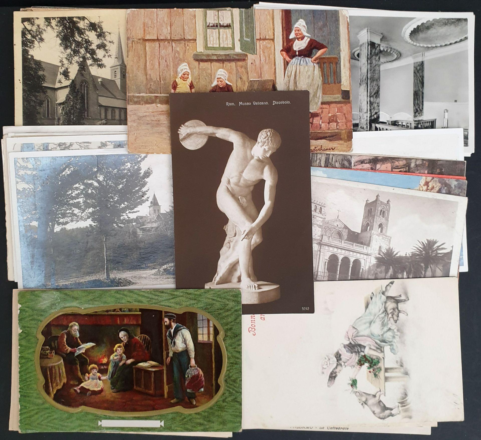 Vintage Parcel of 50 World Postcards