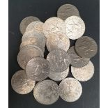 Collectable Coins 22 Elizabeth II Silver Jubile Coins