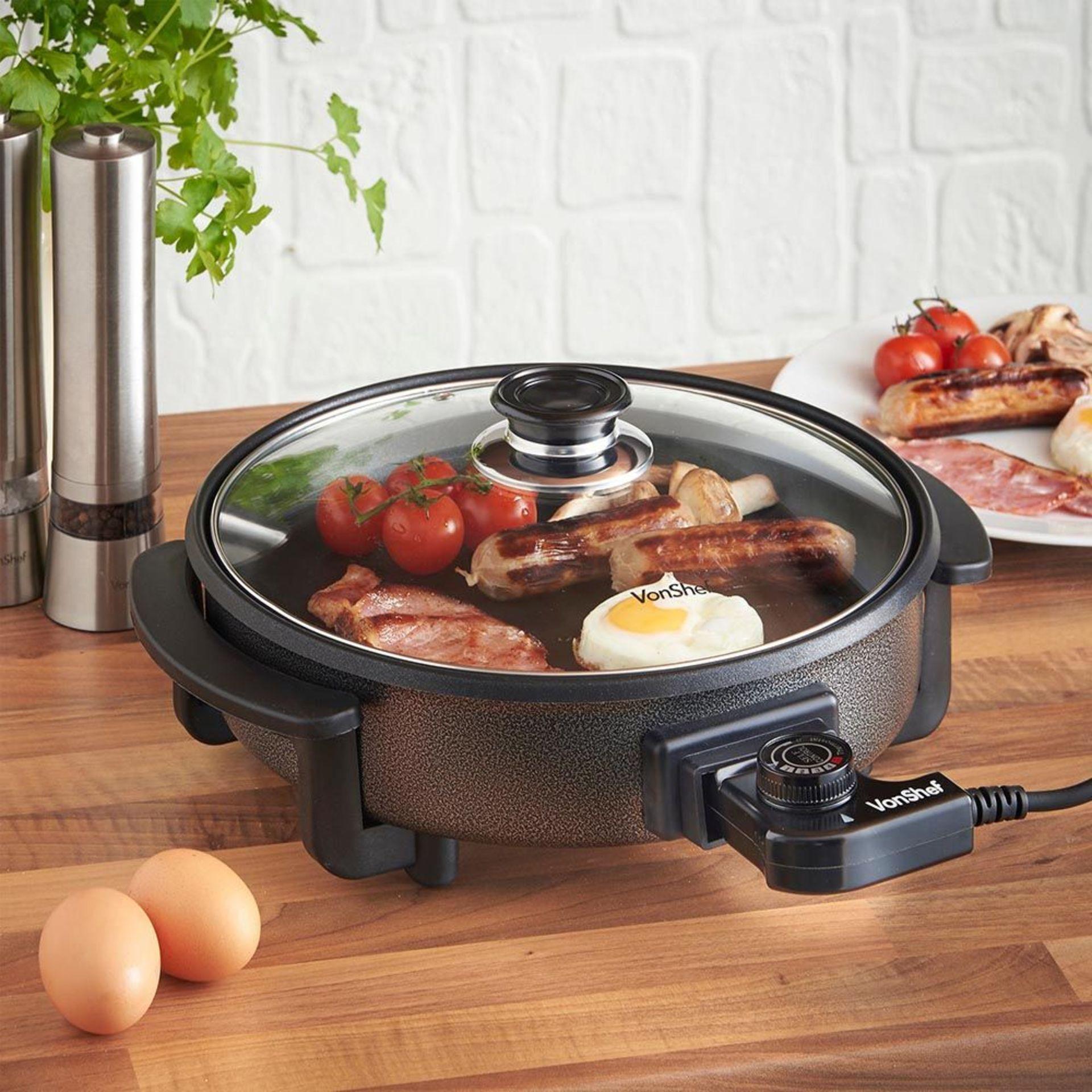 Los 62 - (KG38) 30cm Round Multi Cooker. Convenient and easy to use cooker that frys, Sautés, Braises, ...